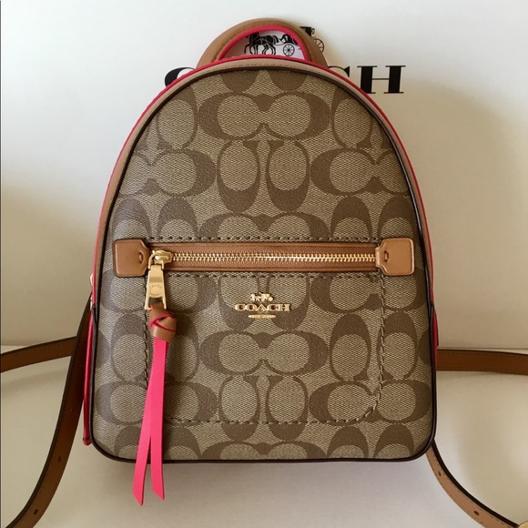 3b41cf20c27a 🌷Coach Signature Andi Backpack NWT.